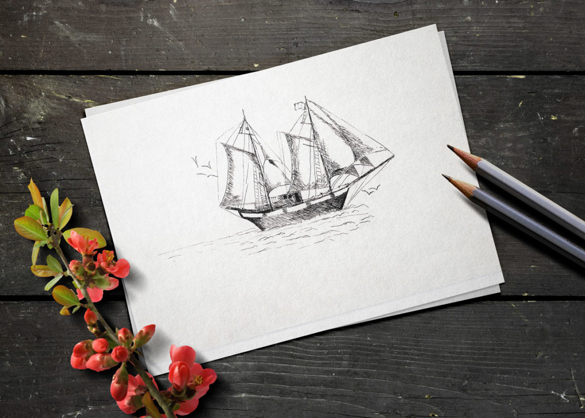 First Blog Post - Sailing Ship by Twist of Creation