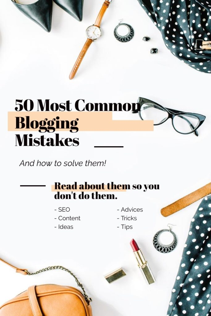Common blogging mistakes