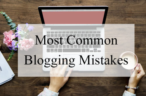 50+ Most Common blogging mistakes