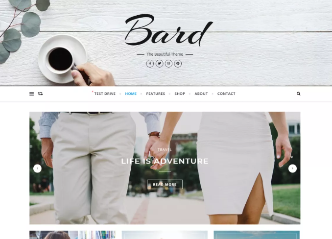 Wp Theme Bard - How to Start a Blog for Beginners