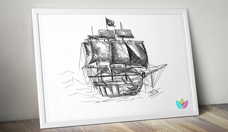 Printable Art - Marine theme prints - Digital Downloads by Twist of Creation