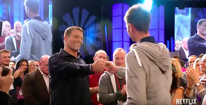 Tony Robbins Movie - I am not your guru review