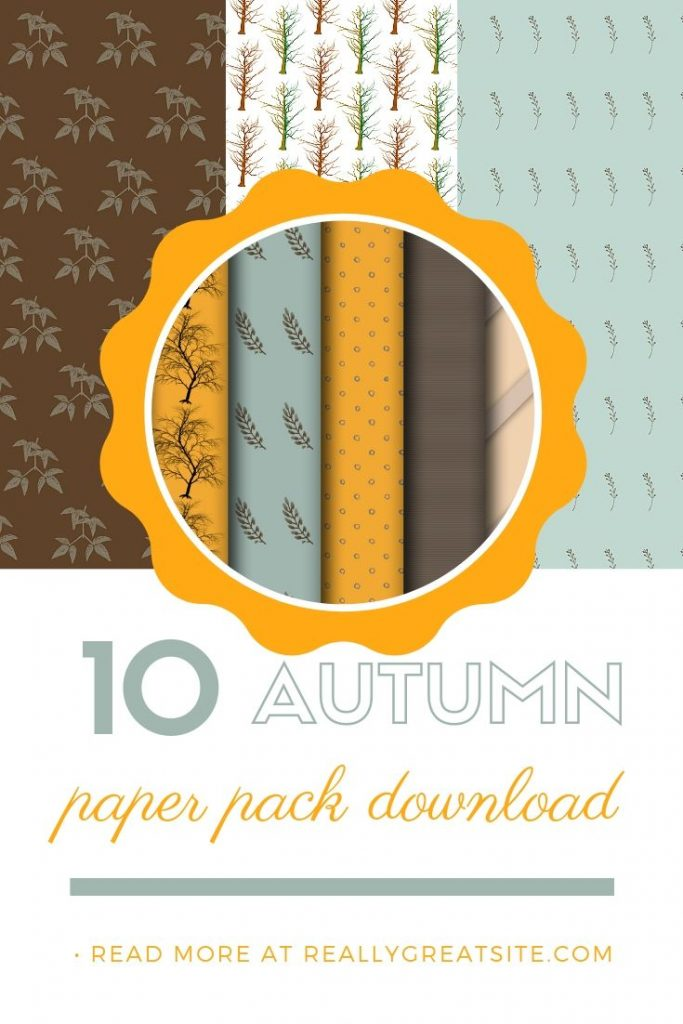 Autumn Paper Pack - Free Paper Pack