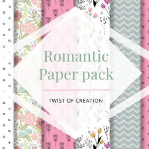 Romantic Paper pack - free image download paper