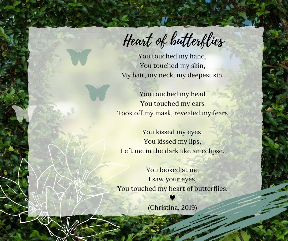 Heart of butterflies - Love Poems - Christina 2019
