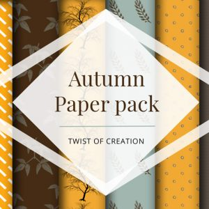 Autumn Paper Pack - Free paper download