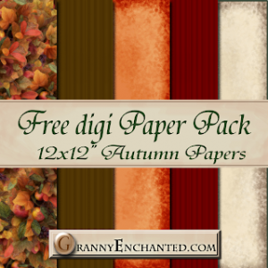 Granny Enchanted.com Free Paper Pack