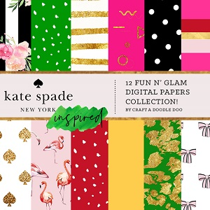 Kate Spade inspired collection cover